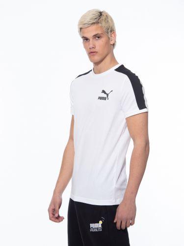 PUMA T-Shirt 599869_02 Iconic T7 Mens Tee white