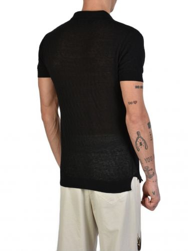 XAGON MAN T-shirt polo J11201 Black