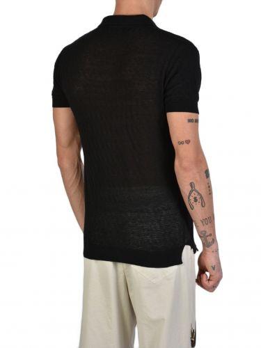XAGON MAN T-shirt polo J11201 Μαύρο