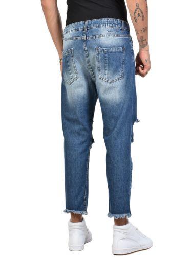 XAGON MAN JEAN παντελόνι FIT02 μπλέ