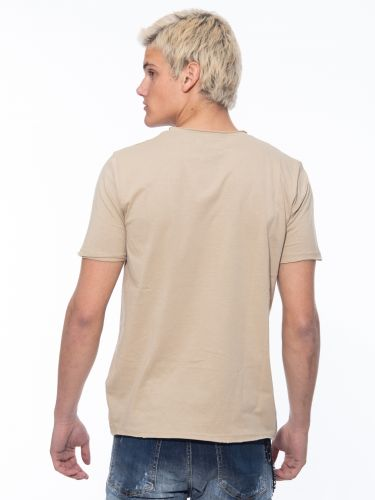 OVER-D T-shirt OM113TS Beige