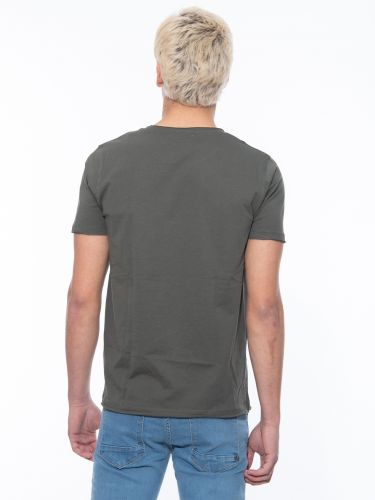 OVER-D T-shirt OM113TS Khaki