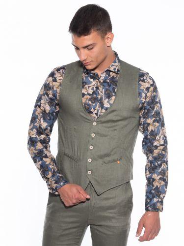 OVER-D Linen vest...