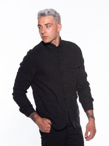 GABBA Shirt - Jacket Goa Linen Layer P5300 Black