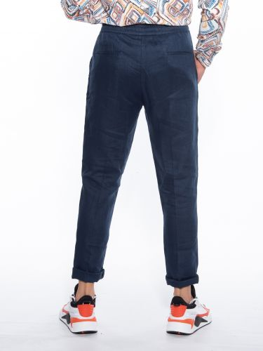 OVER-D Trousers Chino OM601PN Blue