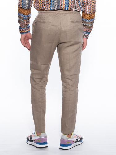 OVER-D TROUSERS OM601PN Beige