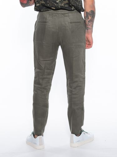 OVER-D παντελόνι Chino OM601PN Λαδί