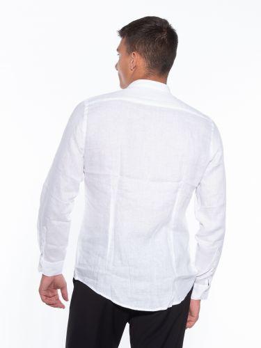 OVER-D Linen shirt OM349CM White