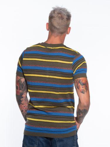 OVER-D T-shirt νημάτινο OM774MG Λαδί
