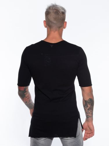 19 ATHENS T-shirt K21-1053 Black