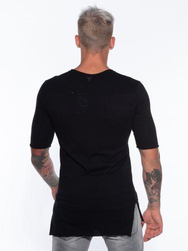 19 ATHENS T-shirt K21-1053  Μαύρο