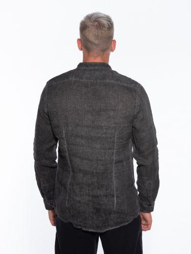 OVER-D Linen shirt OM352CM Black