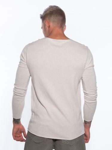 GABBA Μπλούζα Pilago LS Knit P5219 Μπεζ