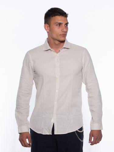 OVER-D Linen shirt OM353CM...