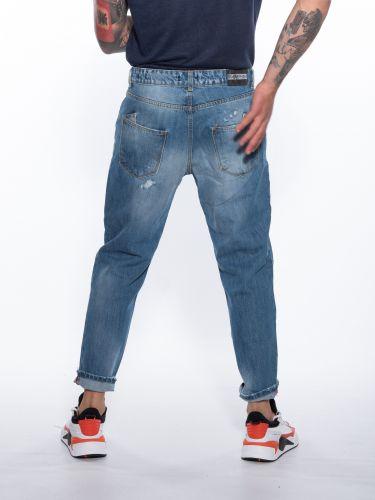 OVER-D Jean Trousers OM259JN Blue