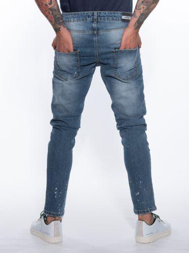 OVER-D Jean Trousers OM250JN Blue
