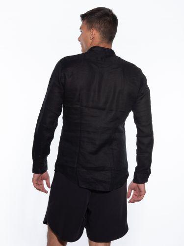 OVER-D Linen shirt OM349CM Black