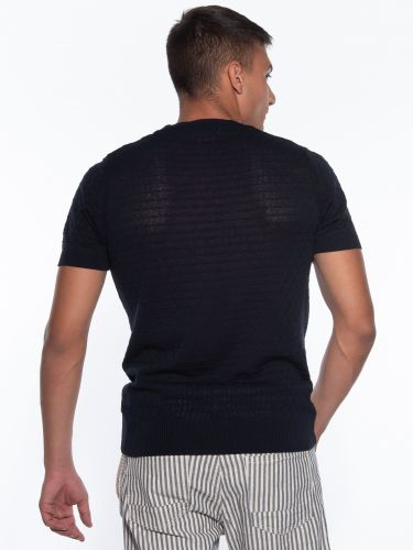 OVER-D T-shirt νημάτινο OM779MG Μπλε