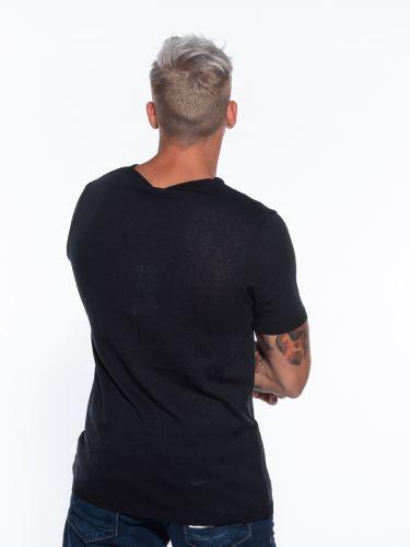 OVER-D T-shirt thread OM621MG Blue