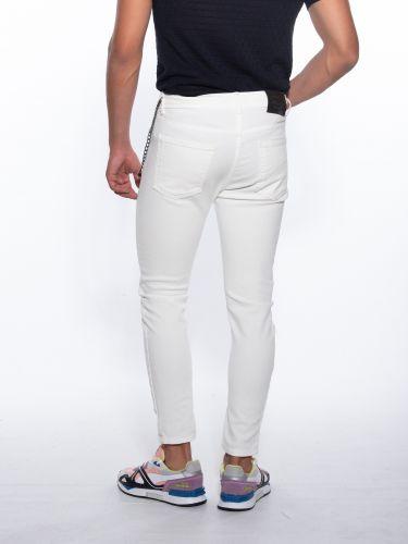 XAGON MAN JEAN UOXFOR pants White