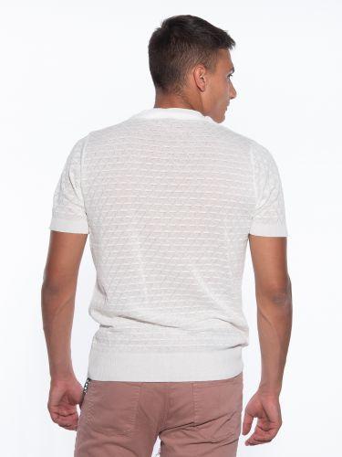 OVER-D T-shirt thread OM779MG Ecru