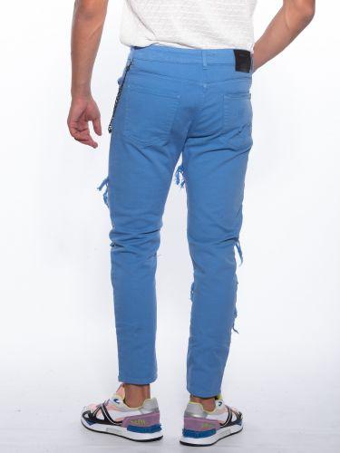 XAGON MAN Jean Trousers USTRON Blue rouya