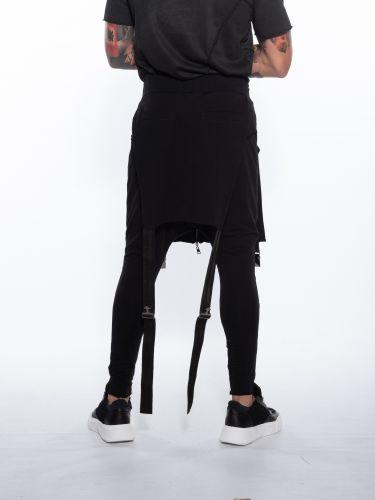 LA HAINE Mako overalls 3M DILATED Black