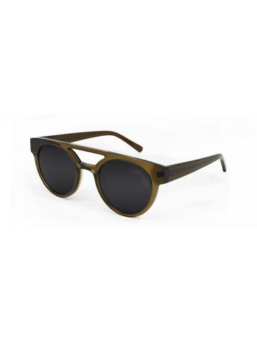 WEAREEYES Γυαλιά ηλίου VECTOR 2 GREEN Λαδί σκελετό-μαύρο φακό