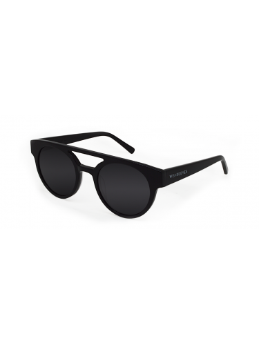 WEAREEYES Sunglasses VECTOR 2 BLACK SHINY Black Frame-Black Lens