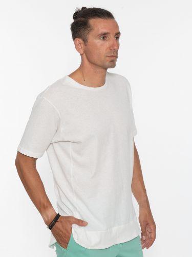 19 ATHENS T-shirt K21-1038 Λευκό