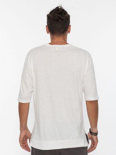 19 ATHENS T-shirt K21-1035 Λευκό