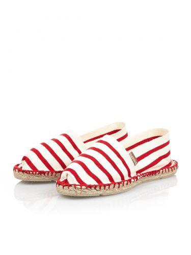 Espadrij Esp-K15-06 ριγέ κόκκινο - λευκό