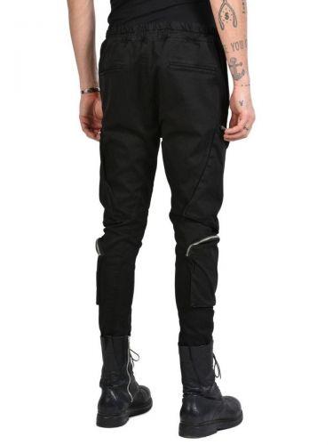 LA HAINE Cargo Trousers 3C BULC Black
