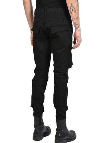 LA HAINE Cargo Trousers 3C DONKAOS Black