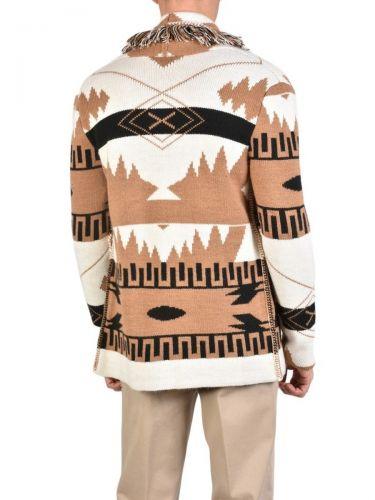 XAGON MAN Knitted cardigan 1EREVE9 Ecru - Tampa