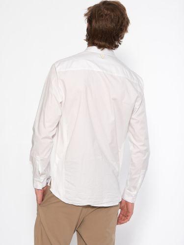 19 ATHENS Shirt mao X21-1001 White