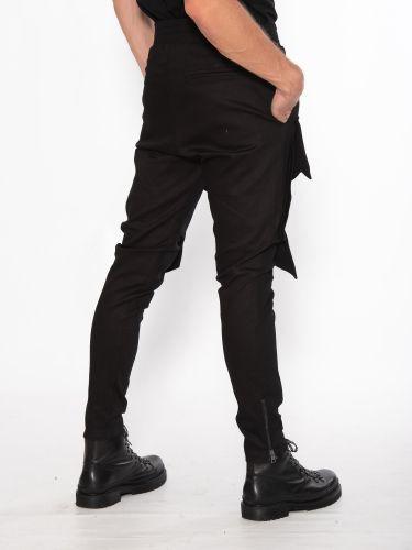 LA HAINE Cargo Trousers 3B CLIMA Black