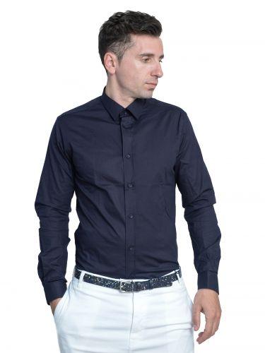 Papilio Garamas πουκάμισο PG-1002 navy blue