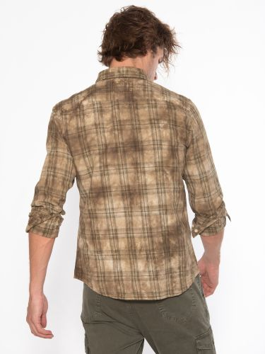 TIGHA πουκάμισο 105676 HAKU χακί μπεζ