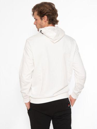 PUMA Φούτερ με κουκούλα 531577 02 AS Graphic Λευκό