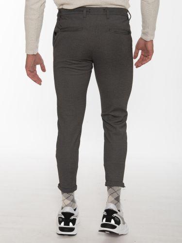 GABBA Chino Trousers PISA Jersey P5758 Gray