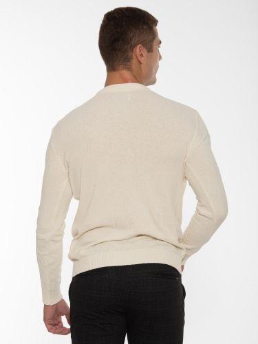 GABBA Blouse - Sweater Gormely Crew Neck P5466 Off-white