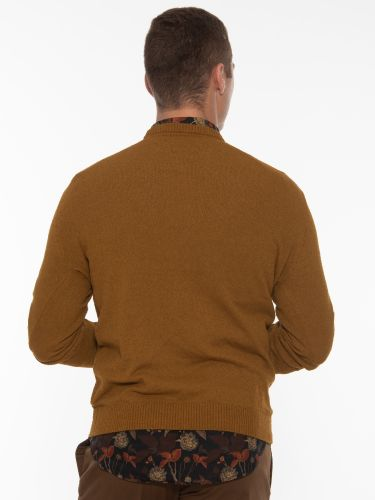 GABBA Blouse - Sweater Gormely Crew Neck P5466 Brown - Bronze