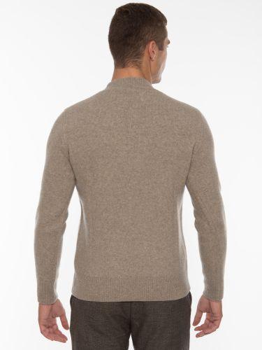 GABBA Blouse - Sweater Ivy Text P5533 Gray Melange
