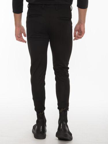 GABBA Chino Trousers PISA Jersey P5758 Black