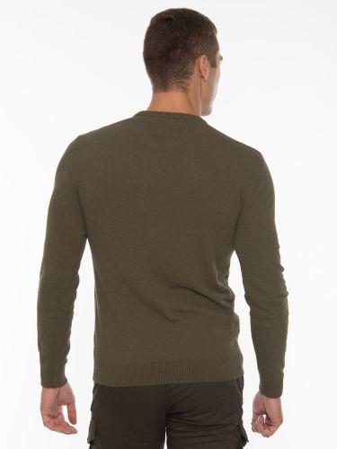 GABBA Blouse - Sweater Gormely Crew Neck P5466 Khaki