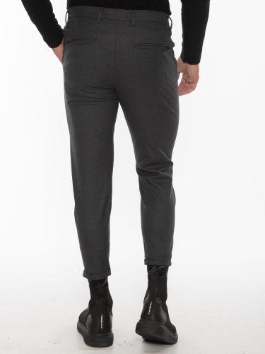 GABBA Chino Trousers PISA Arius P5607 Gray - Anthracite
