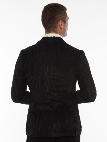 OVER-D Corduroy jacket OM875GC Black