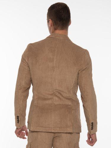 OVER-D Corduroy jacket OM875GC Brown