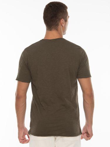 OVER-D T-shirt OT1F2W1T06 Χακί